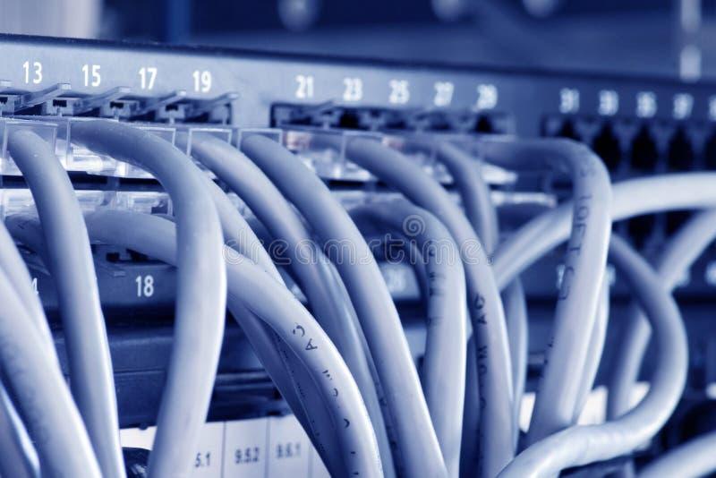 Eje de Ethernet foto de archivo
