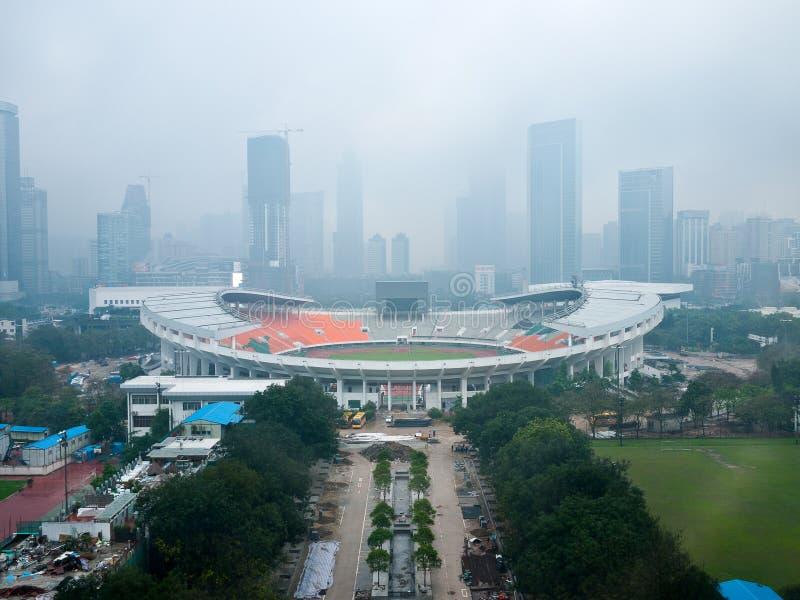 Eje de Guangzhou fotografía de archivo