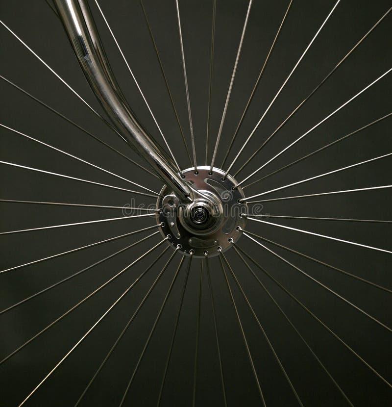 Eje de la bicicleta fotografía de archivo