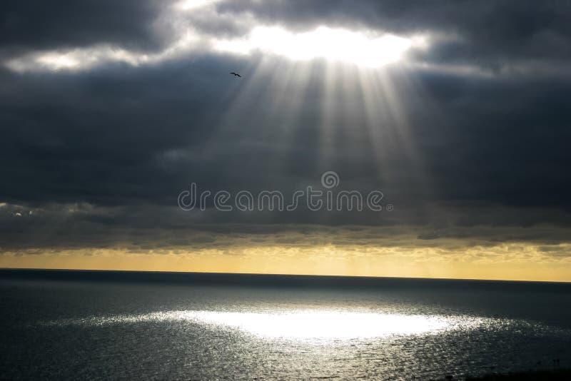Eje de la luz imagenes de archivo