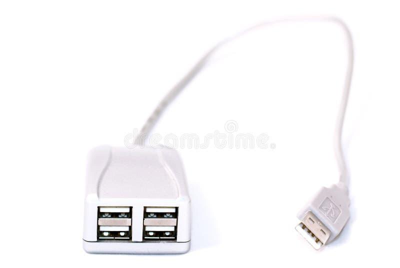 EJE DEL USB fotografía de archivo libre de regalías