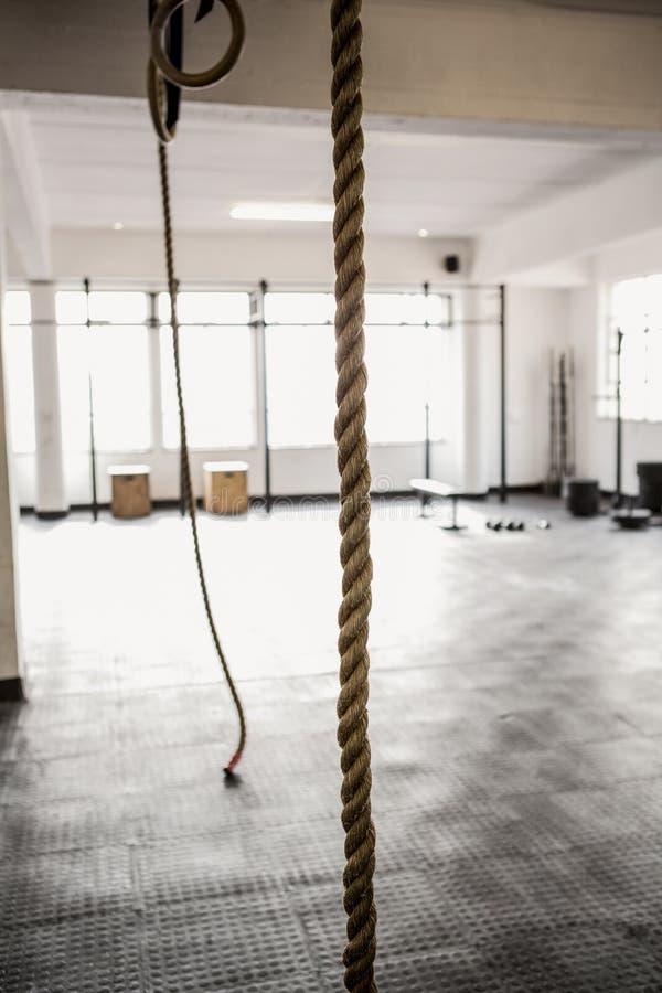 Ejecución de la cuerda del ejercicio imagenes de archivo