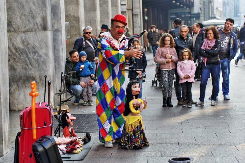 Ejecutante de la calle fotos de archivo