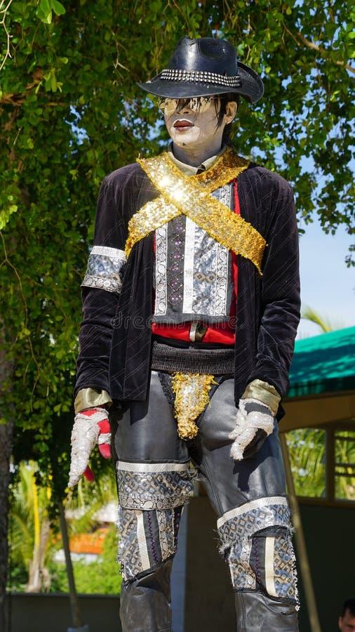 Download Ejecutante De La Calle De Michael Jackson En El La Romana, República Dominicana Foto de archivo - Imagen de impersonator, outdoors: 64206144