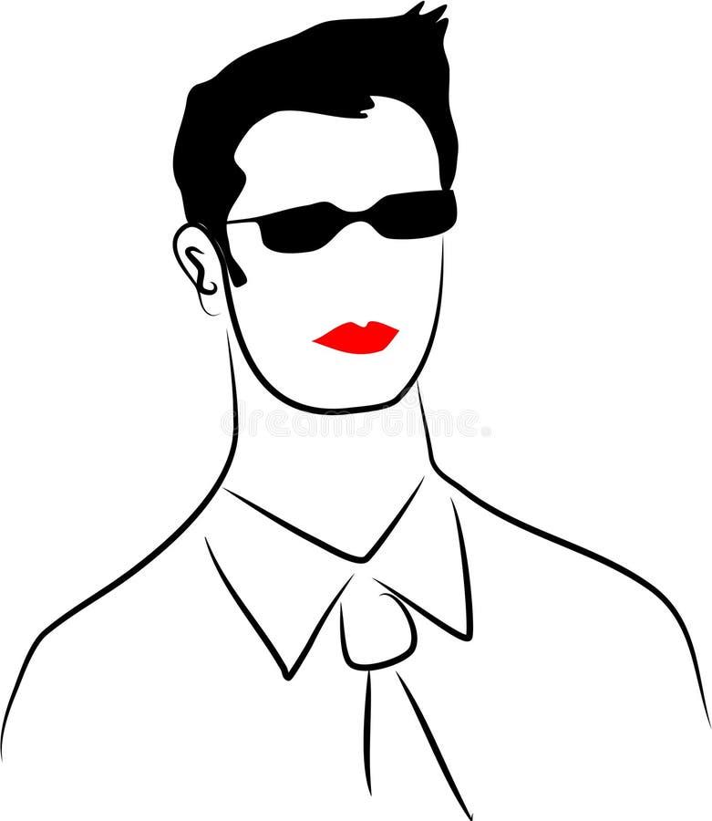 Ejecutivo moderno ilustración del vector