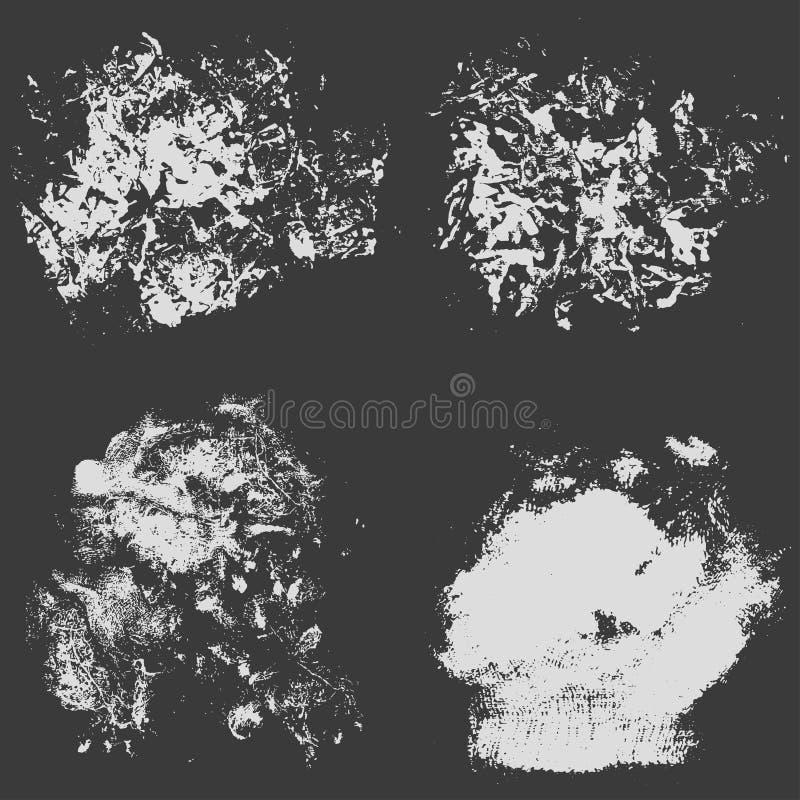 Ejemplo áspero del vector del fondo de la textura del grunge de la trama stock de ilustración