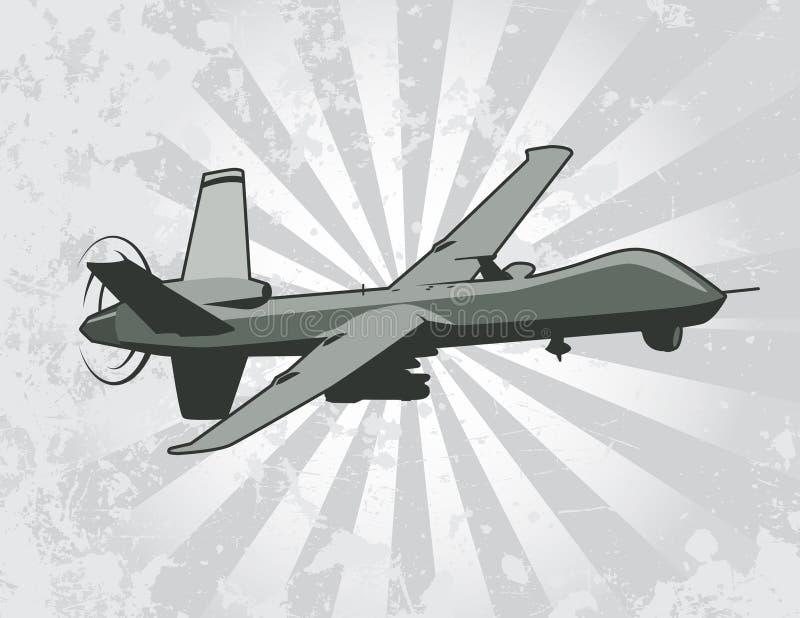 Ejemplo aéreo sin tripulación del vector del vehículo libre illustration