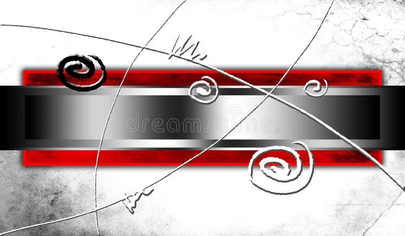 Ejemplo abstracto del arte del diseño del color ilustración del vector