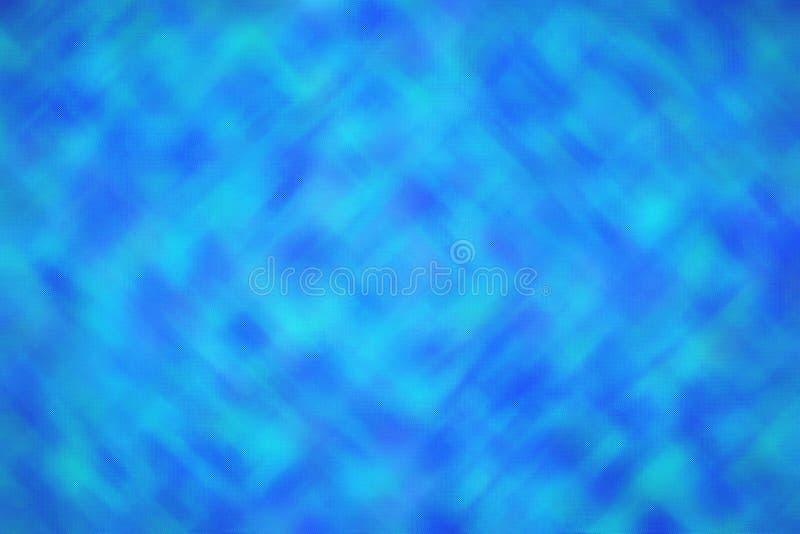 Ejemplo abstracto del fondo de cristal minúsculo directo brillante azul del trampista, digital generado imágenes de archivo libres de regalías