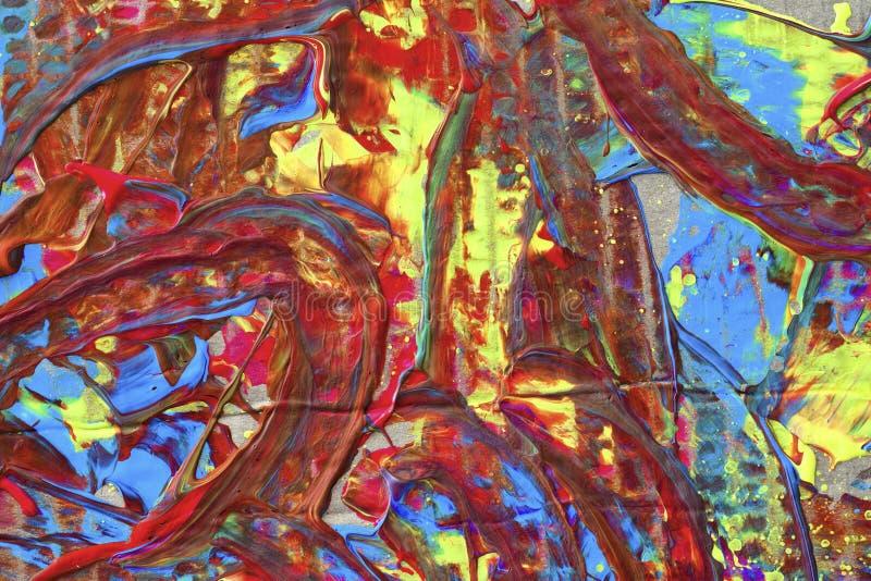 Ejemplo abstracto del fondo, pintura viva foto de archivo libre de regalías