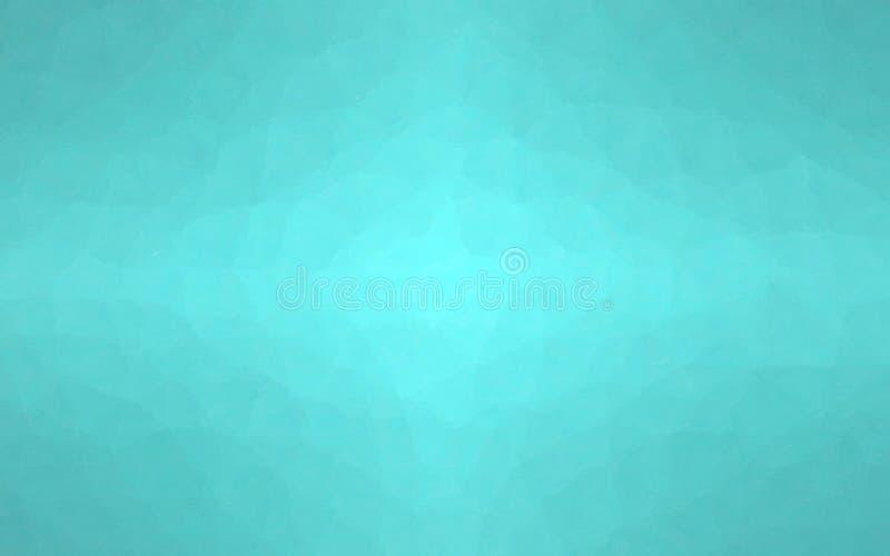 Ejemplo abstracto del mosaico en colores pastel seprent del mar a través del fondo de los ladrillos de cristal, digital generado ilustración del vector