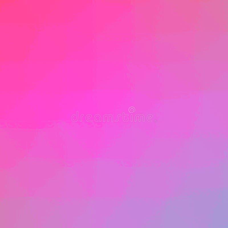 Ejemplo abstracto del mosaico púrpura y azul rojo cuadrado a través del fondo de los ladrillos de cristal, digital generado stock de ilustración