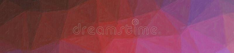Ejemplo abstracto del pastel rojo y azul negro con el fondo de la bandera del alza del color, digital generado libre illustration