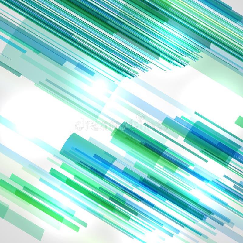 Ejemplo abstracto, fondo colorido stock de ilustración