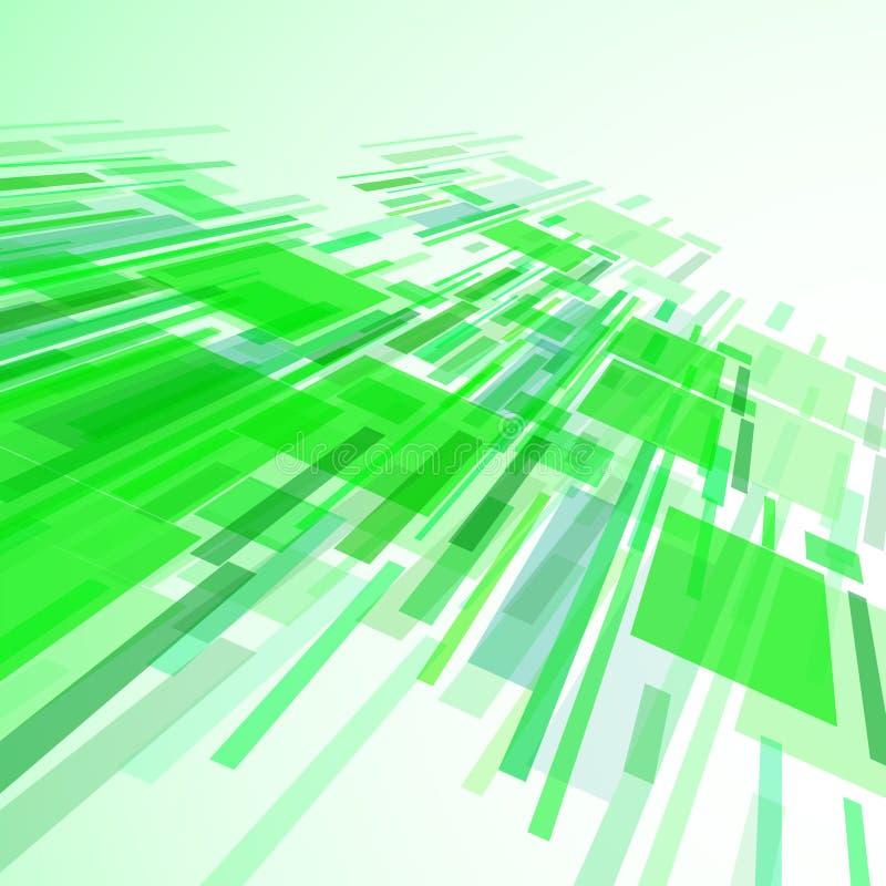 Ejemplo abstracto, fondo colorido ilustración del vector