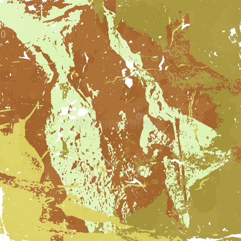 Ejemplo abstracto hermoso del fondo de la pintada libre illustration