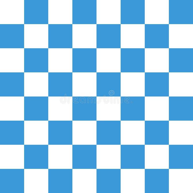 Ejemplo azul claro moderno del vector del diseño del fondo del tablero de ajedrez EPS10 ilustración del vector