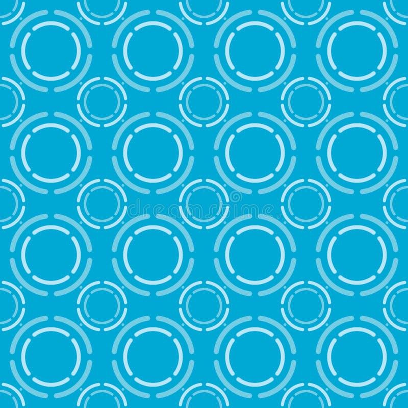Ejemplo azul del vector del modelo fotos de archivo libres de regalías