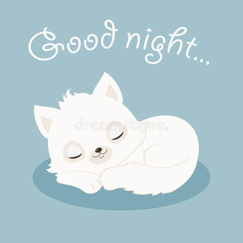 Hilo para dar las buenas noches  - Página 2 Ejemplo-blanco-del-gatito-del-gato-de-las-buenas-noches-73505895