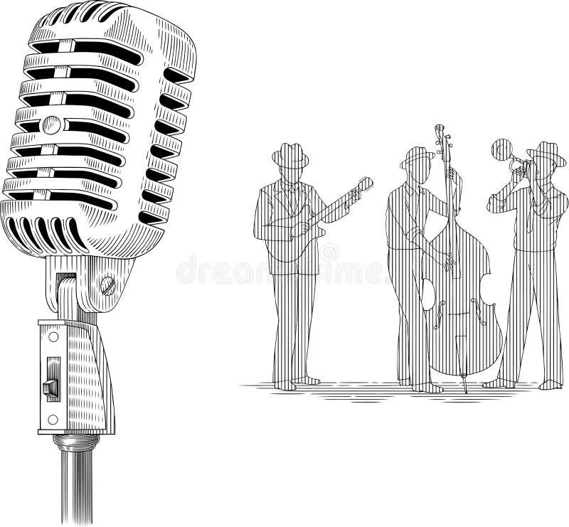 Jazz stock de ilustración