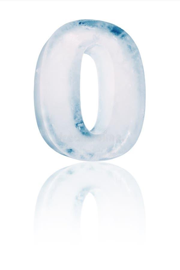 Ejemplo cero del número del hielo libre illustration