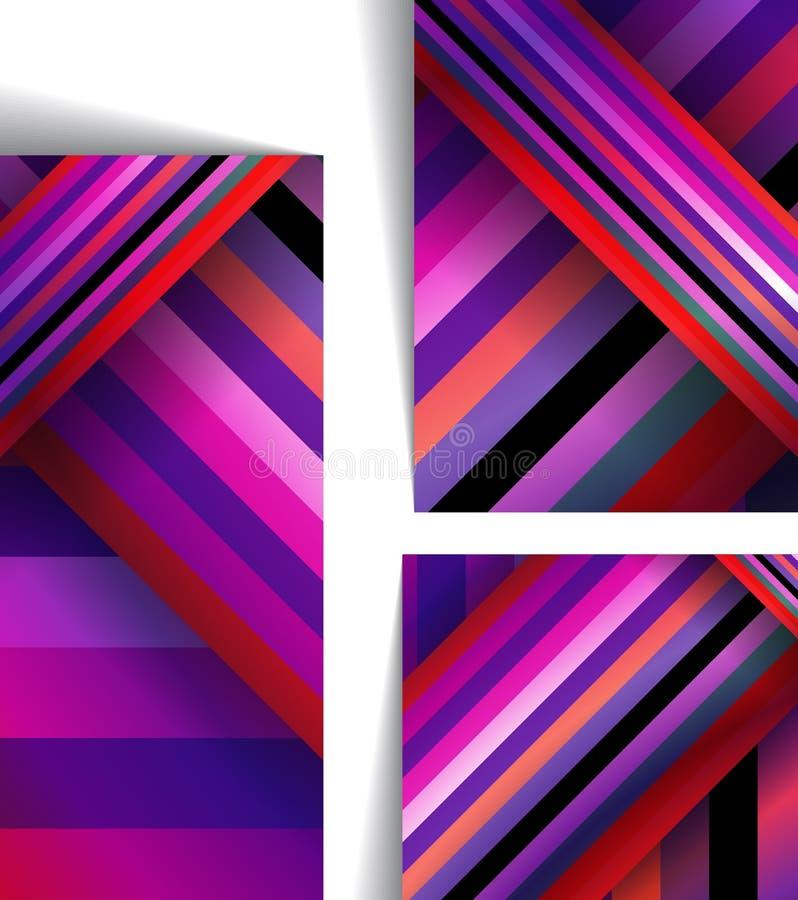 Ejemplo colorido abstracto stock de ilustración