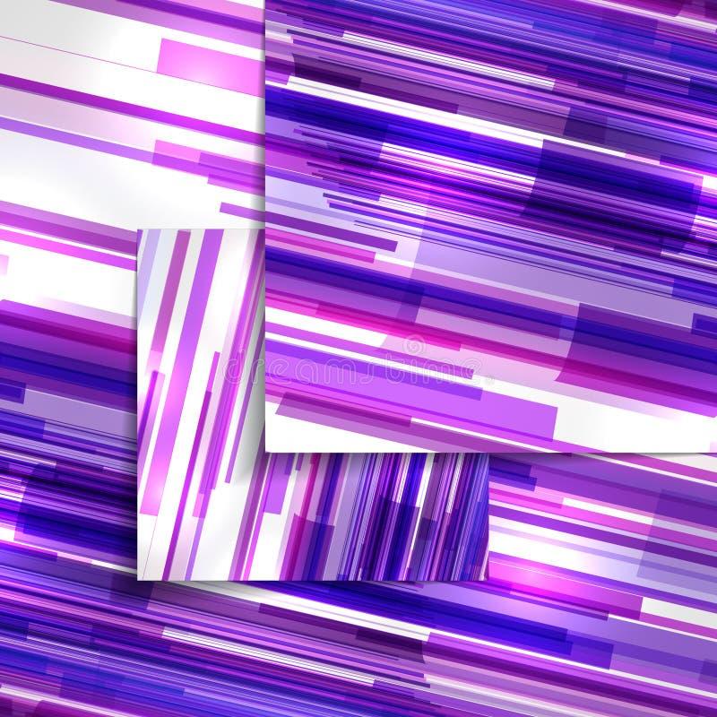Ejemplo colorido abstracto ilustración del vector