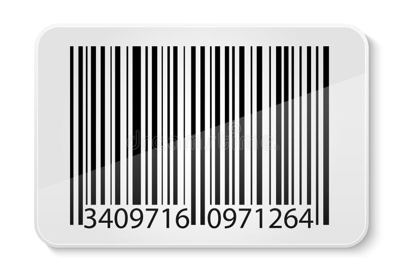 Ejemplo común del vector del código de barras ilustración del vector