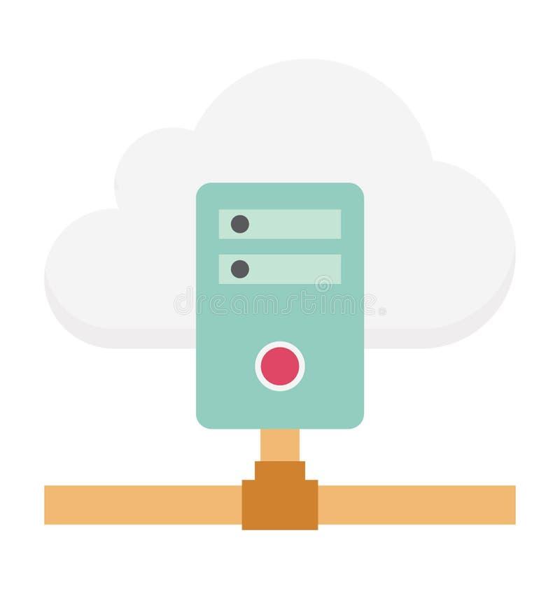 Ejemplo computacional del vector de la nube fotos de archivo