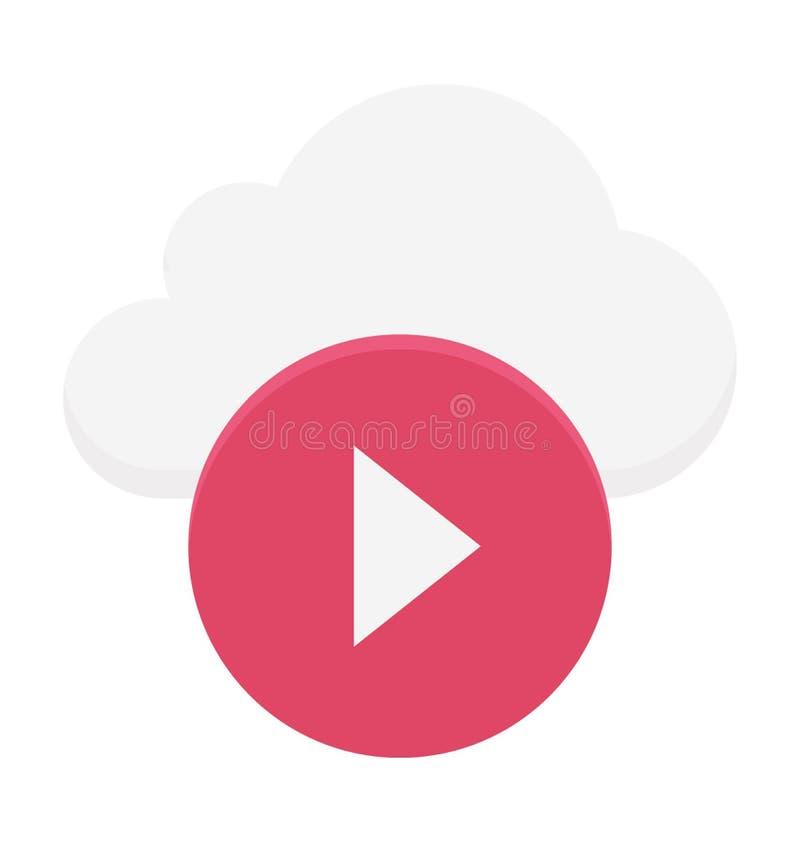 Ejemplo computacional del vector de la nube fotos de archivo libres de regalías