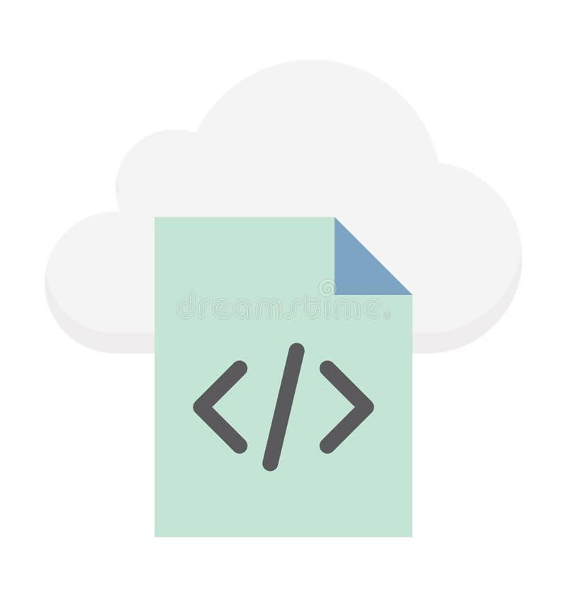 Ejemplo computacional del vector de la nube foto de archivo libre de regalías