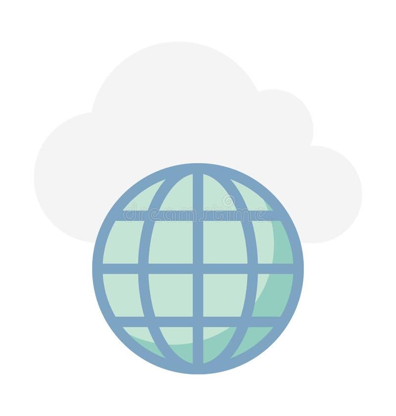 Ejemplo computacional del vector de la nube imagen de archivo libre de regalías