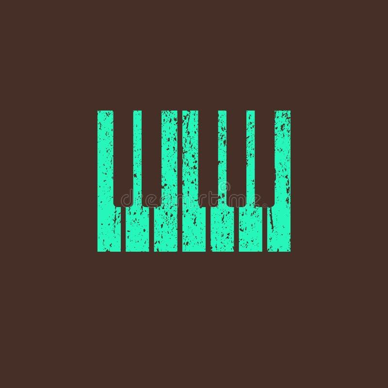 Ejemplo con el piano libre illustration