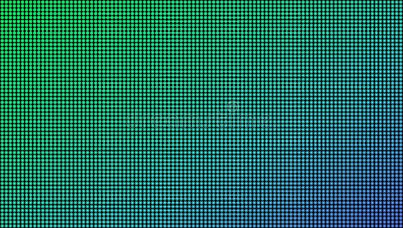 Ejemplo creativo del vector de la textura macra llevada de la pantalla aislado en fondo transparente Diodo del rgb del diseño del ilustración del vector