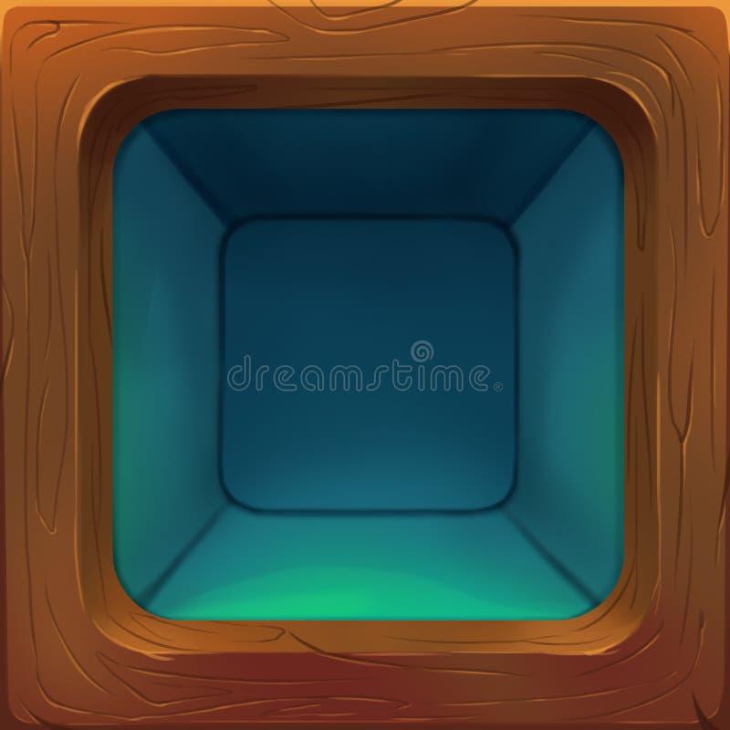 Ejemplo creativo y arte innovador: Icono del armario libre illustration