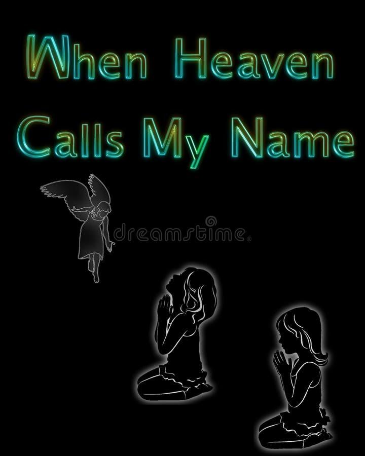 Ejemplo cuando el cielo llama mi nombre libre illustration