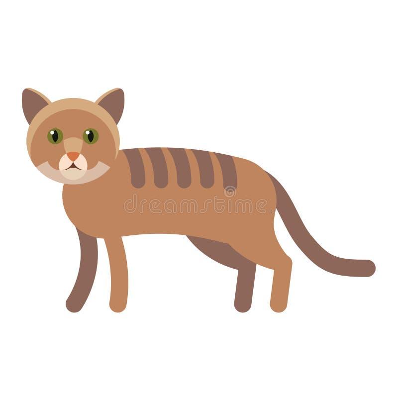 Ejemplo de Cat Vector stock de ilustración