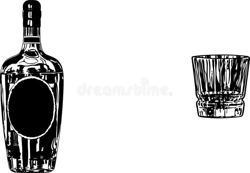 Ejemplo de cristal del vector de Borbón por los crafteroks libre illustration