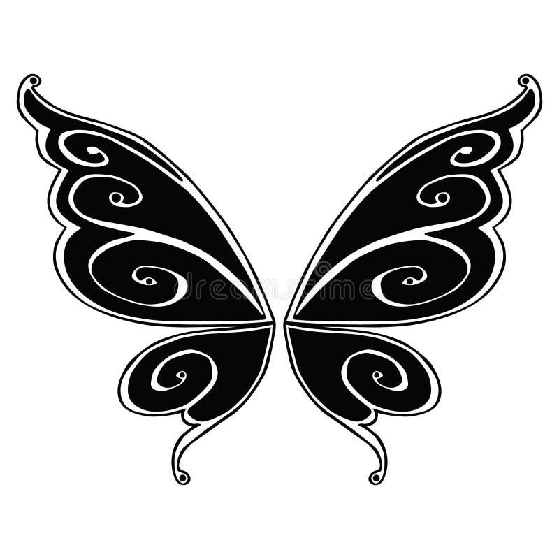 Ejemplo de hadas del vector EPS del ala por los crafteroks libre illustration