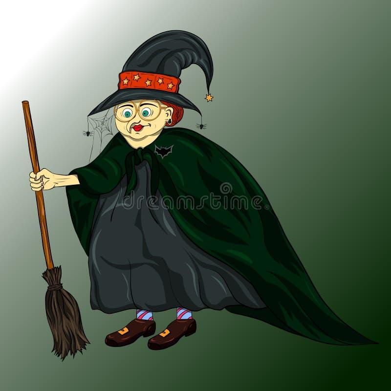 Ejemplo de Halloween con libre illustration