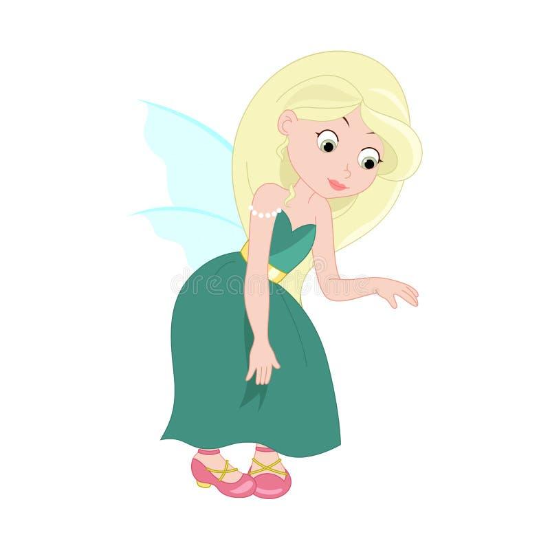Ejemplo de la hada joven linda Vector libre illustration
