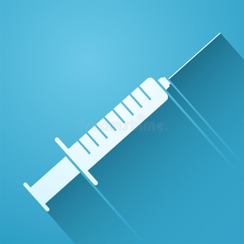Ejemplo de la inyección stock de ilustración
