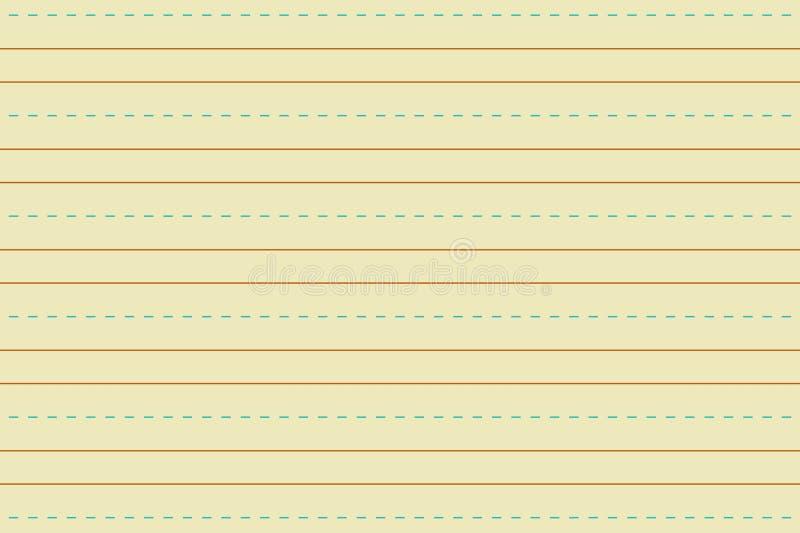 ejemplo de la línea amarilla textura del papel imágenes de archivo libres de regalías