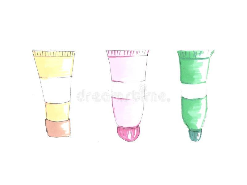 Ejemplo de la moda del sistema del tubo libre illustration
