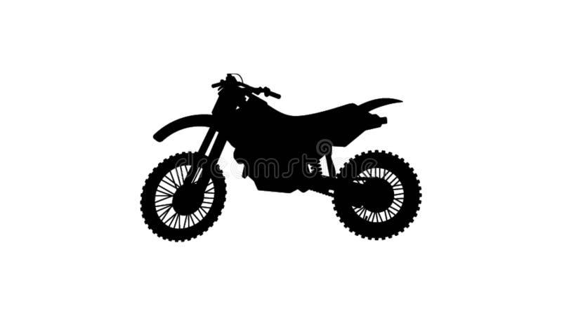 Ejemplo de la motocicleta ilustración del vector