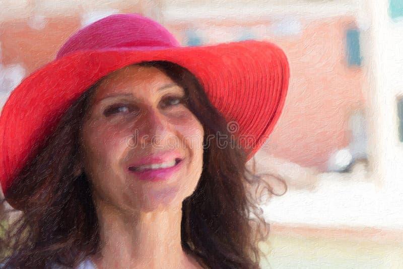 Ejemplo de la mujer hermosa foto de archivo libre de regalías