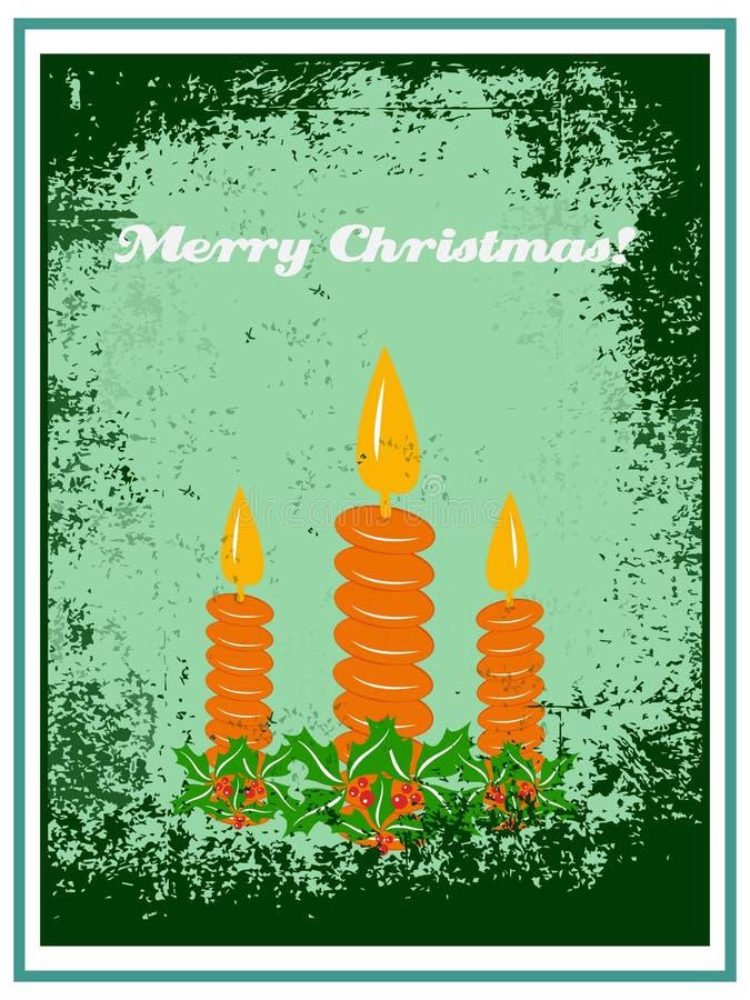 Ejemplo de la Navidad ilustración del vector