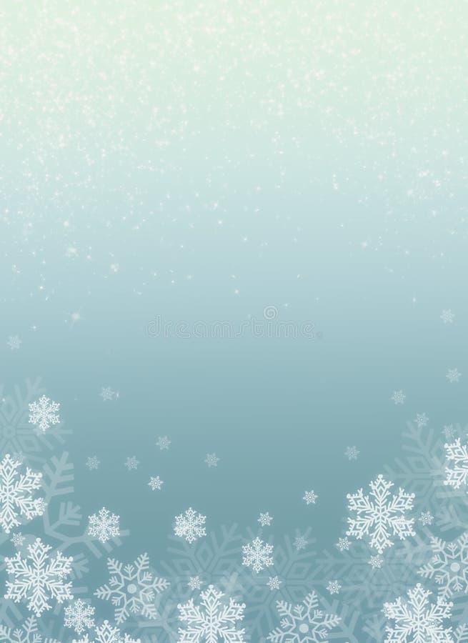 Ejemplo de la Navidad con el fondo del azul de la pendiente imagenes de archivo