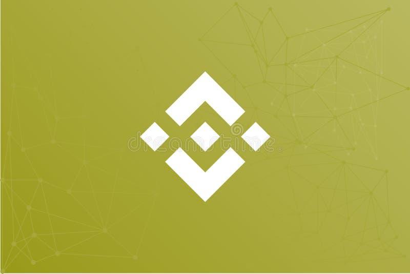 Ejemplo de la red de Binance BNB stock de ilustración