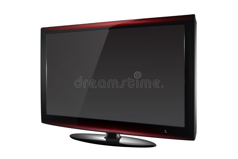 Ejemplo de la TV lcd fotos de archivo